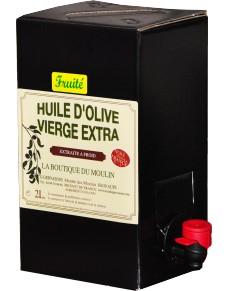 2 litres d'huile d'olive fruitée