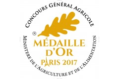 MEDAILLE D'OR  2017 A PARIS